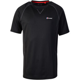 Berghaus Tech 2.0 Tee SS Crew Baselayer Men Black/Black